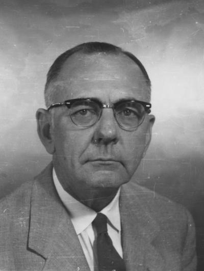 Whittenburg, Harry W., County Agent and District Leader for Simpson and Hopkins Counties1927-1966