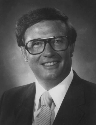 Wilhoit, Judge Henry, 1960 graduate of University of Kentucky law school; member of Board of Trustees 1988 - 1996