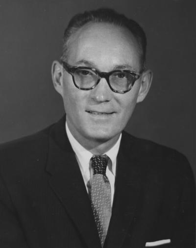 Wilcox, Francis O., Assistant Secretary of State for International Organization Affairs, photograph by Robert H. McNeil