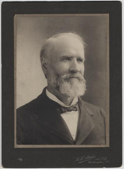 Wilson, James, of Iowa, Secretary of Agriculture (United States), served under Presidents McKinley, Teddy Rooselvelt, and Taft (1897-1912)