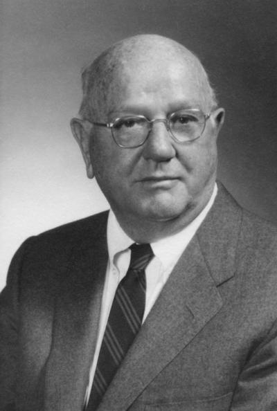 Wright, Floyd H., captain of the 1917 University football team and Director, First Security National Bank, 1958 - 1966; 1969 - 1972 Board of Trustees