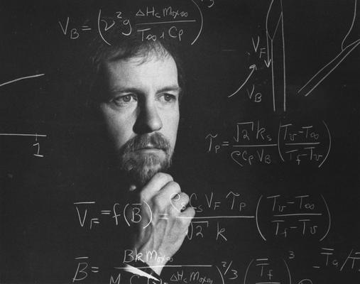 Altenkirch, Robert, Professor of Chemistry, photographer: Ken Goad