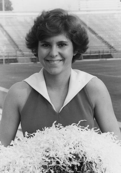 Caudill, Cathy, University of Kentucky Cheerleader
