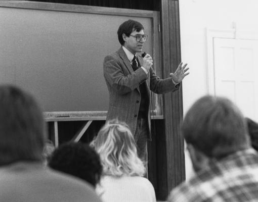 Clayton, Dick, Professor of Sociology, photographer: Bill Wells