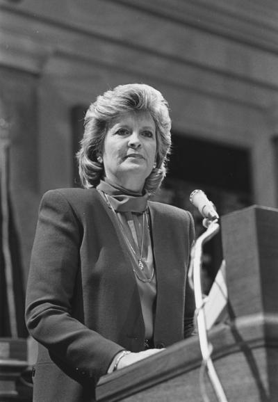 Collins, Martha Layne, 1959 graduate and Governor of Kentucky 1983-1987