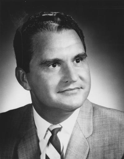 Creech, Glenwood, Vice President of University Relations, photographer:  University of Kentucky Publications Bureau