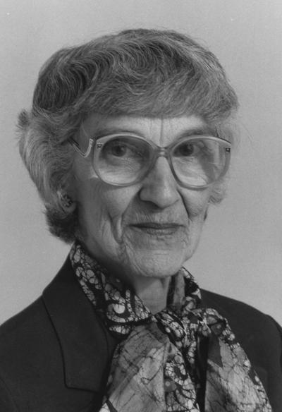 Marlatt, Dr. Abby L., Director of School of Home Economics and the Professor of Home Economics