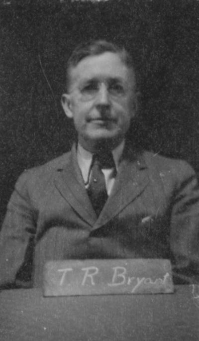 Bryant, Thomson Ripley, Superintendent, Agricultural Extension Service, College of Agriculture, 1918 - 1954