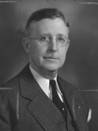 Bryant, Thomson Ripley, Superintendent, Agricultural Extension Service, College of Agriculture, 1918 - 1954, photographer: Adam Pepiot Studio