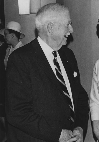 Bryant, Thomson Ripley, Superintendent, Agricultural Extension Service, College of Agriculture, 1918 - 1954, Recipient of the Algernon Sydney Sullivan Medallion in 1967, Lexington Herald - Leader Staff photograph