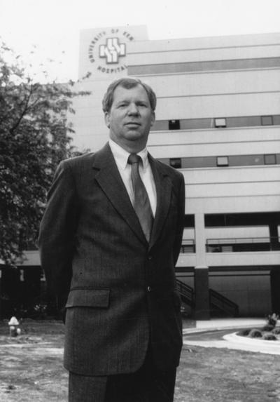Butler, Frank, Vice President for Medical Center Operations, President, CHA Health Networks, Photograph featured in October 4, 1990