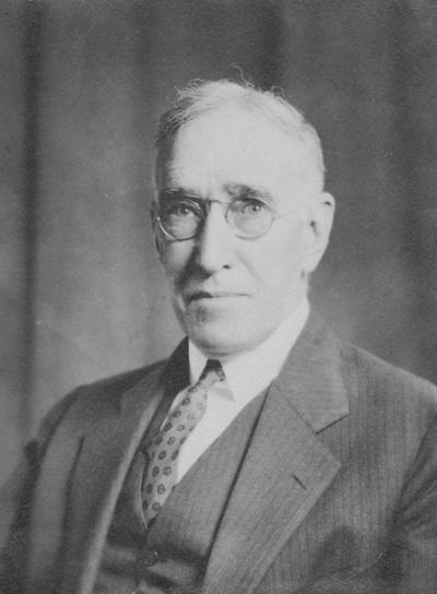 McVey, Frank, McVey, Frank L., birth 1869, death 1953, University of Kentucky President from 1917-1940, Photographer: Keystone News Portraits New York, New York