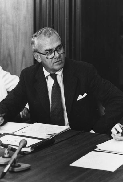 Miles, A. Stevens, President, Chief Operating Officer and Director of First National Bank of Louisville, Chair and Chief Executive Officer of First Kentucky National, Louisville, and Member of the Board of Trustees