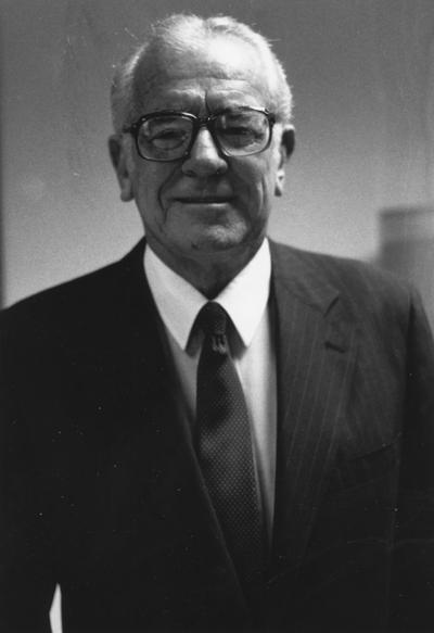 Singletary, Otis A., President of the University of Kentucky 1969-1987