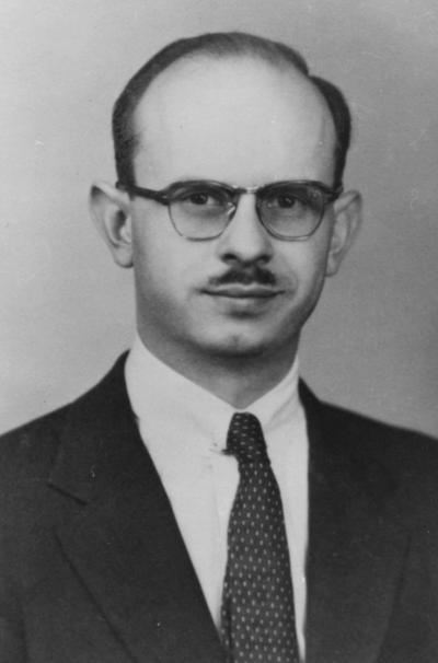 Longyear, Rey M., Musicologist, Professor, School of Music, 1964 - 1994, b. 1930 - d. 1995; portrait print