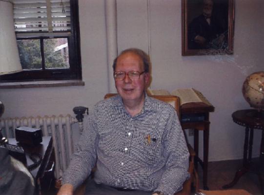Stanger, Frank B., Jr., Reference Archivist, University Archives and Records Program, University of Kentucky