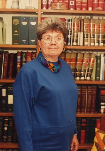 Graham, M. Louise, College of Law, recipient of the 1989 Great Teacher Award