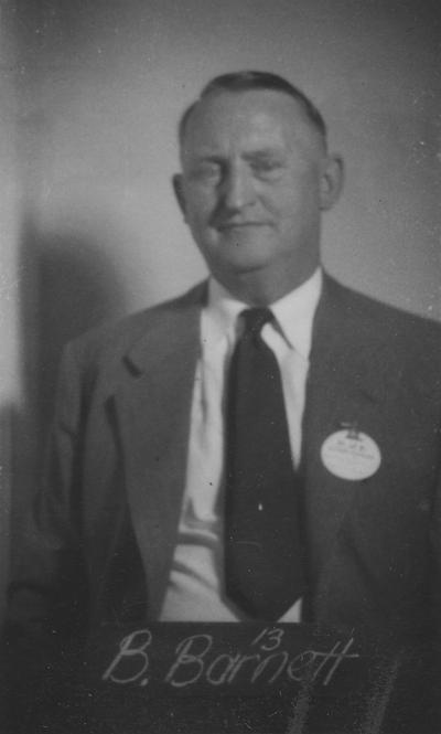 Barnett, Brinkley, Class of 1913, attended reunion in 1940