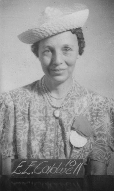 Vaughn, Esther (Mrs. Everett E. Caldwell), Class of 1910, attended reunion in 1940