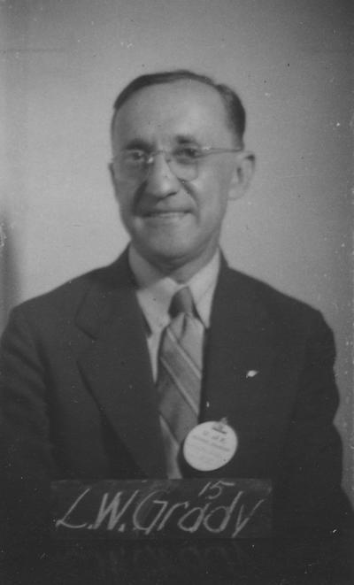Grady, L. W., Class of 1915, attended reunion in 1940