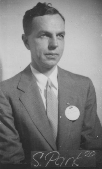 Park, Russell Smith, Class of 1920, attended reunion in 1940