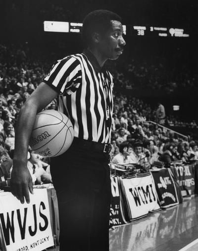 Byars, Don W., Jr., Assistant Director of Undergraduate Admissions, Former NCAA Basketball Referee