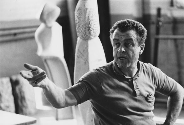 Campbell, Kenneth, Sculptor in Residence, 1966 - 1967