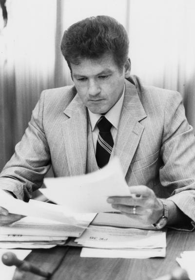 Cantrell, Timothy A., Professor, Madisonville Community College, Board of Trustees, 1983 - 1986, Community College Faculty Representative