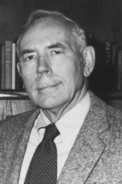 Caudill, Harry M., Professor, History Department, birth, 1922, death, 1990, author of books on conditions in Appalachia
