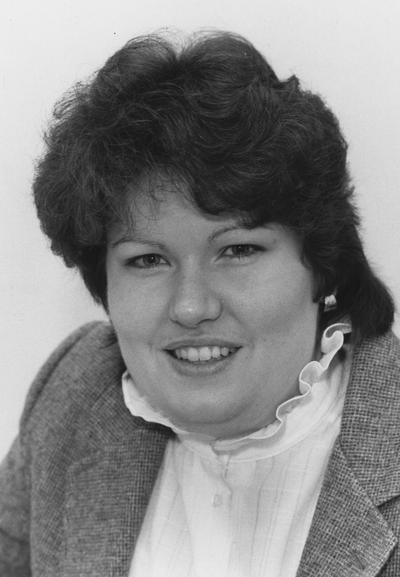 Chesser, Sally A., Placement Center, Stuckert Career Center, Photograph featured in