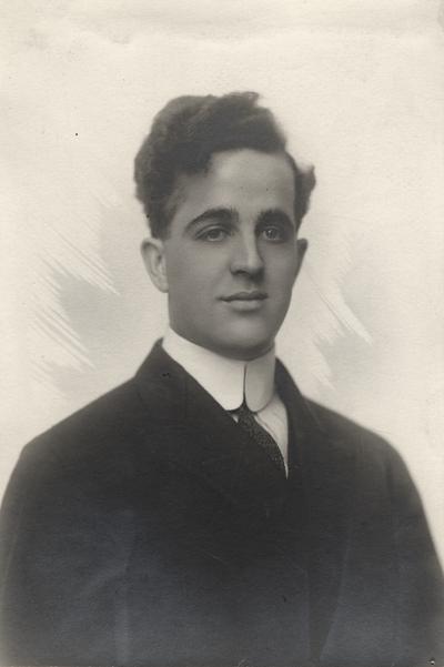 A portrait of Leslie Boone Ingels (older brother Margaret Ingels)