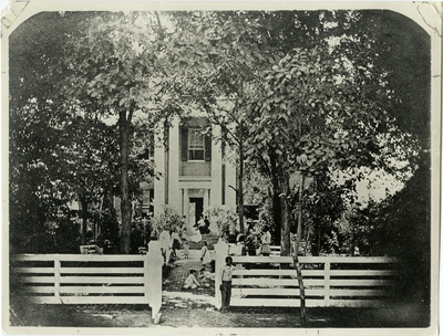 Slave owner house; used as illustration facing page 18 in Coleman's