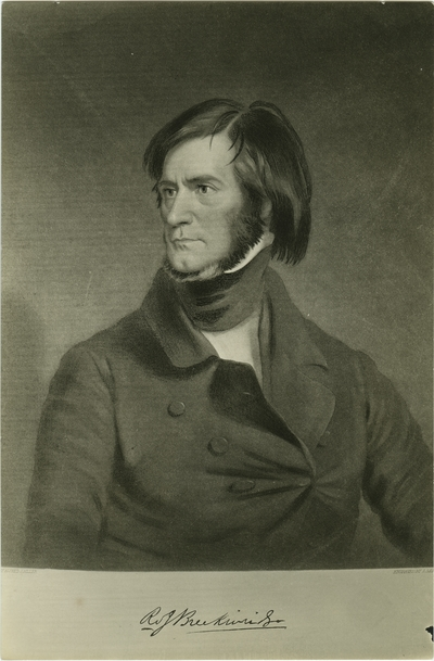 Robert J. Breckinridge; used as illustration facing page 290 in Coleman's