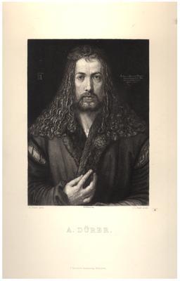 Portrait of A. Durer