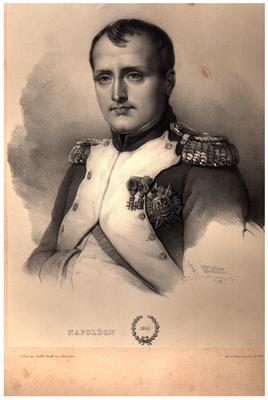 Portrait of Napoleon Bonaparte, dated 1810