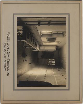 Mechanical Hall, wash and locker room