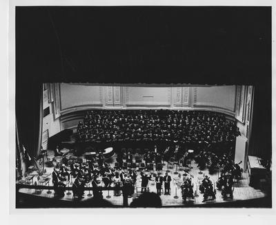 University of Kentucky Choristers perform in Carnegie Hall