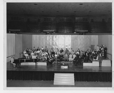 University Symphony Orchestra with Edwin E. Stein conducting; Photographer: LaFayette Studio