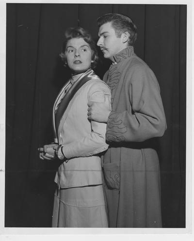 Leila Sherman and Gene Arkle in