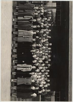 Alpha Zeta, the Home Economics Club; This image is on page 67 of the 1941 Kentuckian