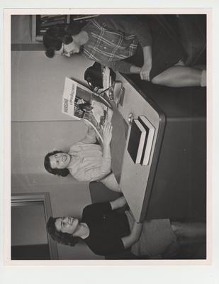 College of Nursing; Jennifer Jones at left