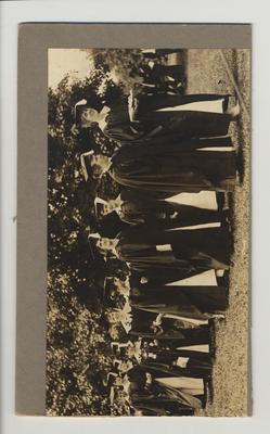 Commencement; This image is on page 92 of the 1917 Kentuckian