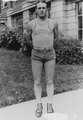 Basketball team member Ellis Johnson