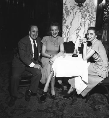 Unidentified guests at party honoring coach Adolph Rupp and the basketball team