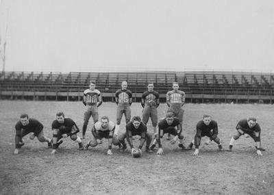 Team photo of the All-Kentucky Team; names of individuals listed on photograph sleeve