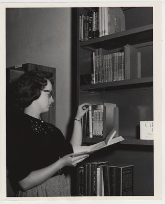 Student at the Math Circulating Library