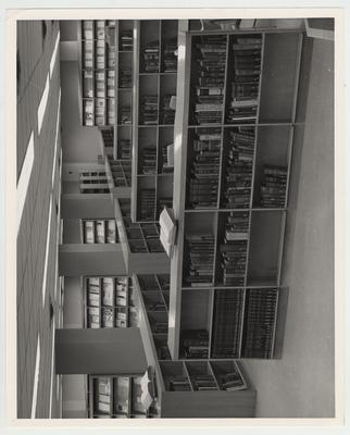 An interior view of the Medical Center Library