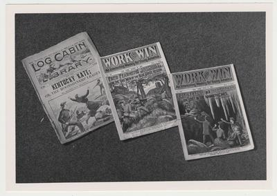 A magazine fiction collection in Special Collections, which is part of a fiction collection in Special Collections