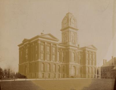 Administration Building, rounded cupola