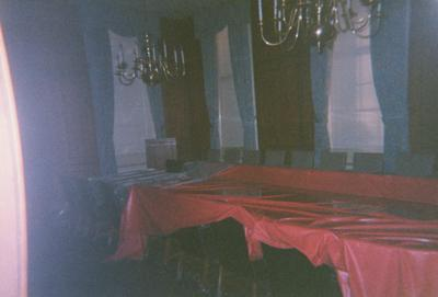 Administration Building fire, May 15, 2001; Boardroom on first floor